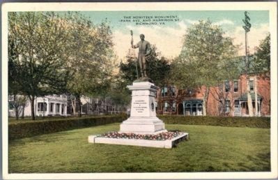 Howitzer Monument (Park Ave. and Harrison St., Richmond, Va. image. Click for full size.