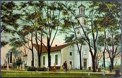 Old St. John's Church, Richmond, Va. image. Click for full size.