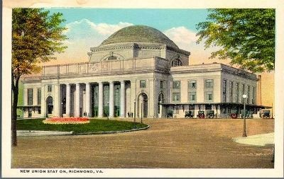 New Union Station, Richmond, Va. image. Click for full size.