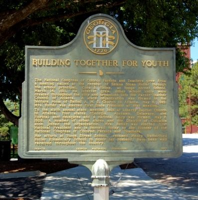 Building Together for Youth Marker image. Click for full size.