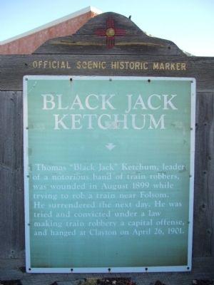 Black Jack Ketchum Marker image. Click for full size.