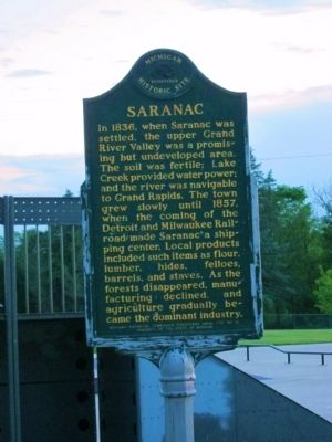 Saranac Marker image. Click for full size.