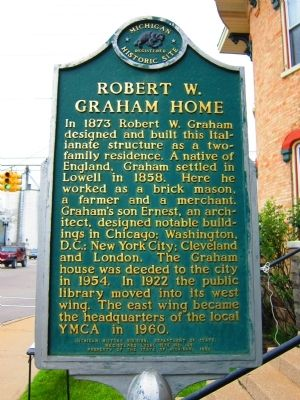 Robert W. Graham Home Marker image. Click for full size.