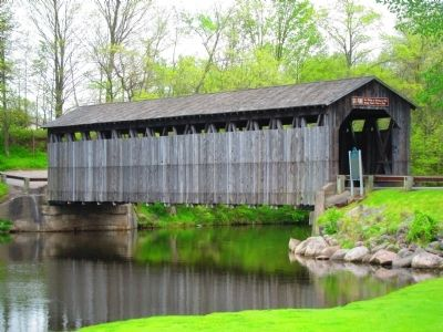 Fallasburg Covered Bridge image. Click for full size.