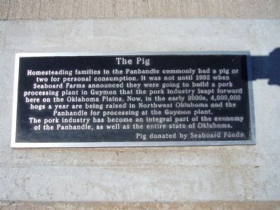 The Pig Marker image. Click for full size.