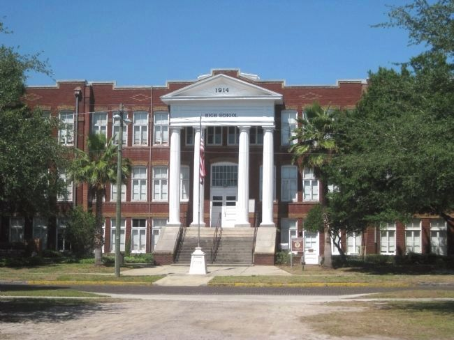 1914 Plant City High School Building image. Click for full size.