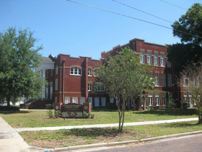 1914 Plant City High School Community Center image. Click for full size.