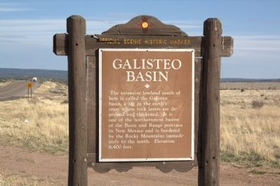 Galisteo Basin Face of Marker image. Click for full size.
