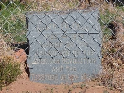 Santa Fe Trail Marker image. Click for full size.