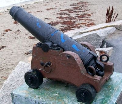 Lincolnville War of 1812 Cannon image. Click for full size.