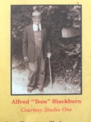 "Alfred ""Teen"" Blackburn (Courtesy Studio One) image. Click for full size."