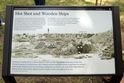 Hot Shot and Wooden Ships Marker image. Click for full size.