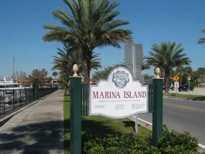 Entrance to Marina Island image. Click for full size.