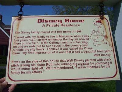 Disney Home Marker image. Click for full size.