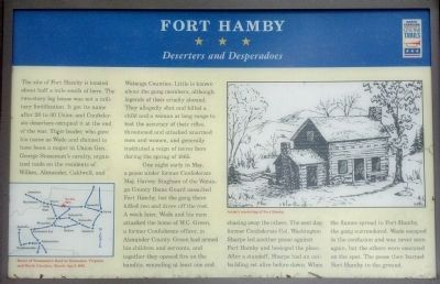 Fort Hamby Marker image. Click for full size.