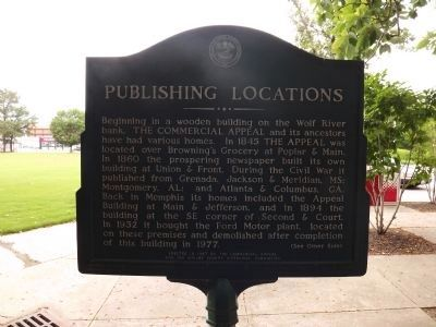 Publishing Locations Marker image. Click for full size.