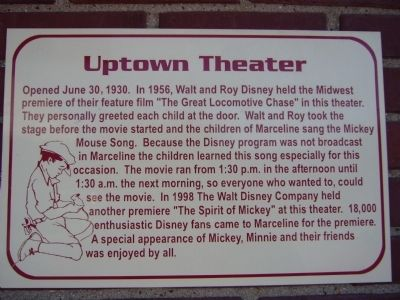 Uptown Theater Marker image. Click for full size.