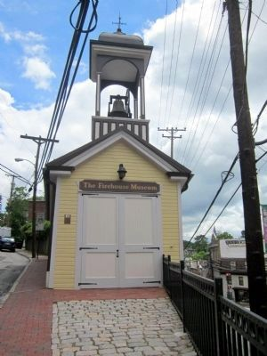 The Firehouse Museum and Marker image. Click for full size.