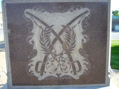 <i>Rear of:</i> Palmyra Confederate Monument image. Click for full size.