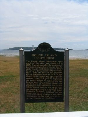 Round Island Lighthouse Marker image. Click for full size.