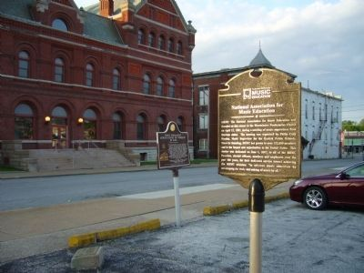 National Association for Music Education Marker image. Click for full size.