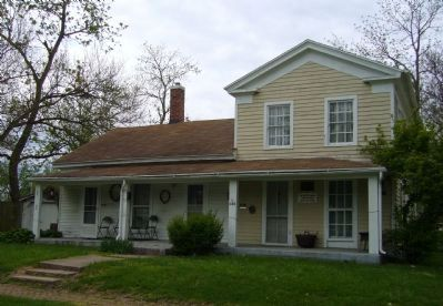 Wyatt Earp Birthplace image. Click for full size.