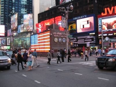 The Armed Forces Recruiting Station in Times Square image. Click for full size.