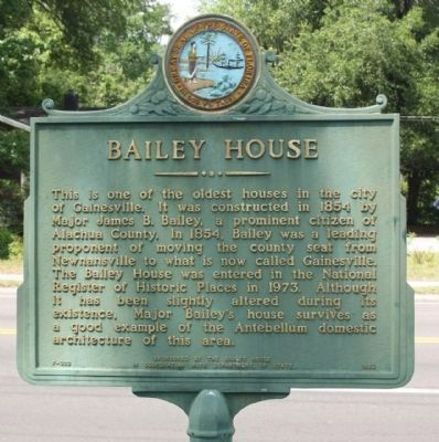 The Bailey House Marker image. Click for full size.