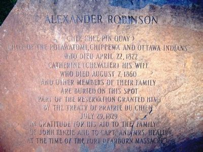 Alexander Robinson Marker image. Click for full size.