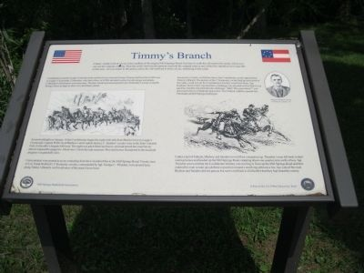 Timmy's Branch Marker image. Click for full size.