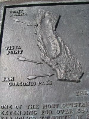 The San Andreas Fault Marker image. Click for full size.