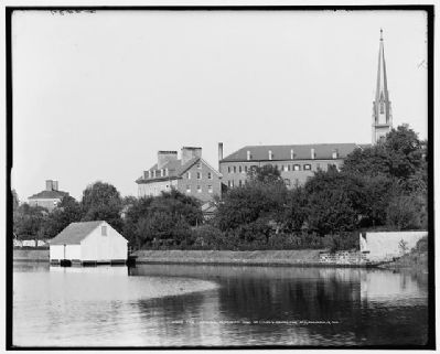 View of St. Mary's Church and the Carroll Mansion image. Click for full size.