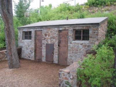 Tahoe City's old jail image. Click for full size.