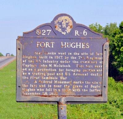 Fort Hughes Marker image. Click for full size.
