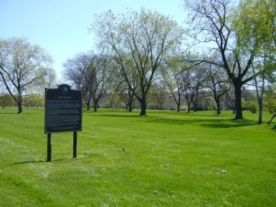 Fort Sheridan Marker image. Click for full size.
