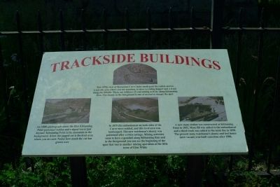 Trackside Buildings Marker image. Click for full size.