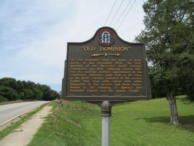 """Old Dominion"" Marker image. Click for full size."