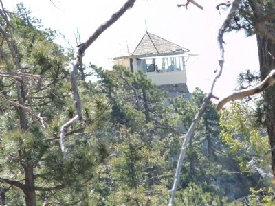 Lemmon Rock Lookout Tower image. Click for full size.