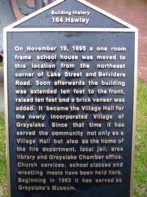 164 Hawley Marker image. Click for full size.