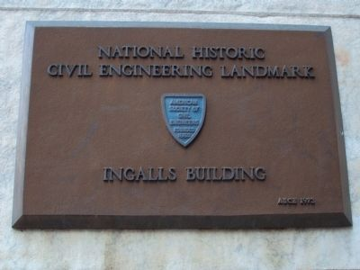 National Historic Civil Engineering Landmark Marker image. Click for full size.