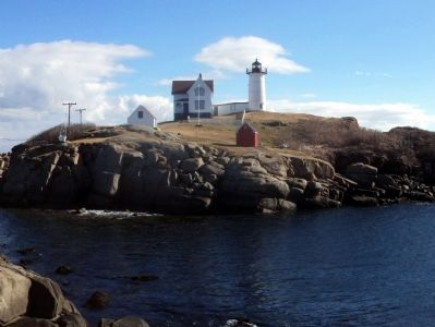 Cape Neddick Lighthouse image. Click for full size.
