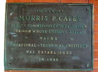 Morris P. Cates Marker image. Click for full size.
