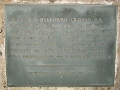 First Congregational Church of South Portland Marker image. Click for full size.