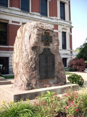 Full View - - Johnson County Spanish American War Honor Roll Marker image. Click for full size.