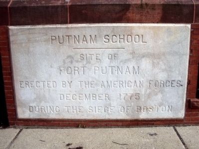 Putnam School Marker image. Click for full size.