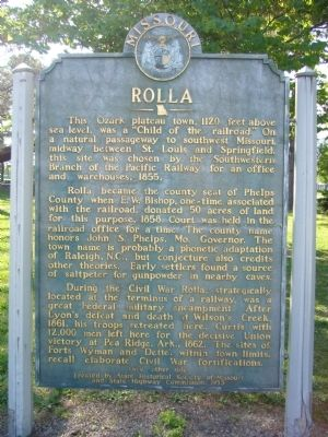 Rolla Marker image. Click for full size.