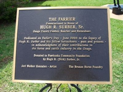 The Farrier Marker image. Click for full size.