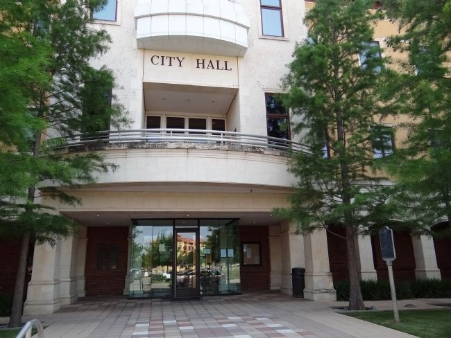 Colleyville City Hall image. Click for full size.