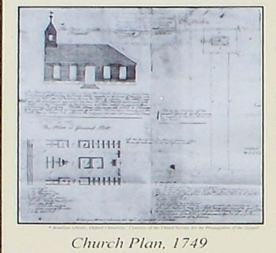 The Colonial Church of Augusta Marker image. Click for full size.