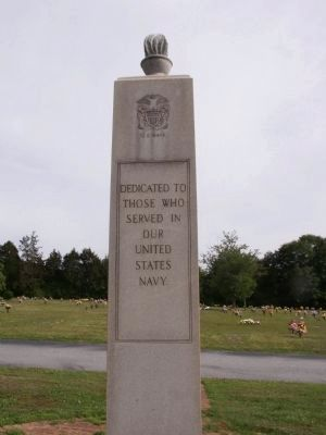 Union Memorial Gardens Veterans Monument Marker image. Click for full size.